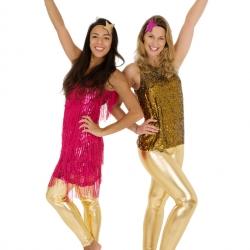 Pink & Gold Disco Divas