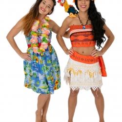 Moana & Hula Girl