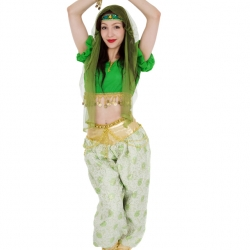 Green Arabian Princess